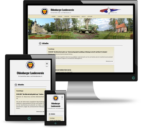 Website des Oldenburger Landesvereins